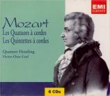 MOZART - Quatuor Heutlin - Quatuors à cordes (Intégrale)