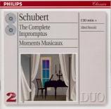 SCHUBERT - Brendel - Quatre impromptus, pour piano op.90 D.899