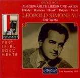 Haendel, Rameau, Duparc, Haydn, Fauré live Salzburg, 14/8/1959