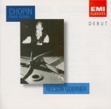 CHOPIN - Goerner - Sonate pour piano n°3 en si mineur op.58