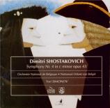 CHOSTAKOVITCH - Simonov - Symphonie n°4 op.43