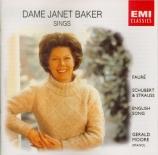 FAURE - Baker - Automne, mélodie pour voix et piano op.18 n°3