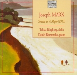 MARX - Ringborg - Sonate pour violon et piano en la majeur