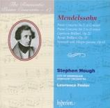 MENDELSSOHN-BARTHOLDY - Hough - Concerto pour piano et orchestre n°1 en
