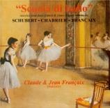 Scuola di ballo: Oeuvres pour 2 pianos et piano à 4 mains