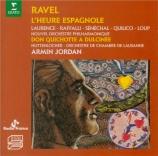 RAVEL - Laurence - L'heure espagnole, opéra