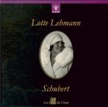 SCHUBERT - Lehmann - Die schöne Müllerin (La belle meunière) (Müller), c