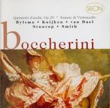 BOCCHERINI - Kuijken - Sonate pour violoncelle solo et basse continue n°