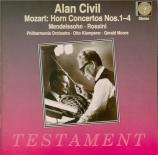 MOZART - Civil - Concerto pour cor et orchestre n°1 en ré majeur K.412 - 5