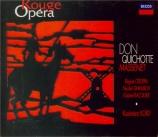 MASSENET - Kord - Don Quichotte, comédie héroïque