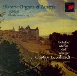 Historic Organs of Austria : Schlägl - Klosterneuburg