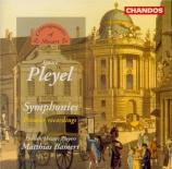 PLEYEL - Bamert - Symphonie en do majeur op.66 B.154