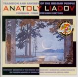 LIADOV - Nikolaiev - Trois esquisses symphoniques