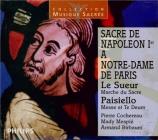 Sacre de Napoléon I à Notre-Dame de Paris