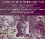 MOZART - Busch - Don Giovanni (Don Juan), dramma giocoso en deux actes K