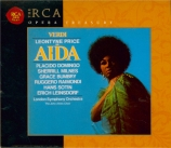 VERDI - Leinsdorf - Aida, opéra en quatre actes