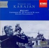 MOZART - Karajan - Symphonie n°29 en la majeur K.201 (K6.186a)
