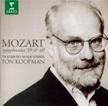 MOZART - Koopman - Symphonie n°40 en sol mineur K.550