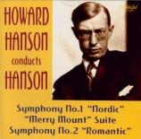 HANSON - Hanson - Symphonie n°1 op.21