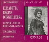 ROSSINI - Sanzogno - Elisabetta, regina d'Inghilterra live Palermo, 23 - 11 - 1970