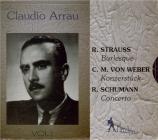 STRAUSS - Arrau - Burleske en ré mineur, pour piano et orchestre AV85 Tr