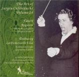 FAURE - Celibidache - Requiem pour voix, orgue et orchestre en ré mineur