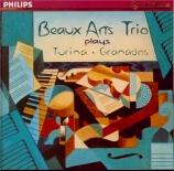 TURINA - Beaux Arts Trio - Trio avec piano n°1 op.35