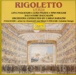 VERDI - Sabajno - Rigoletto, opéra en trois actes