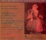 STRAUSS - Szell - Der Rosenkavalier (Le chevalier à la rose), opéra op.5