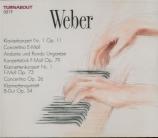 WEBER - Littauer - Concerto pour piano n°1 op.11