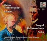 RACHMANINOV - Ludmilin - Aleko, opéra en un acte (1892)