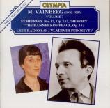 WEINBERG - Fedoseyev - Symphonie n°17 op.137