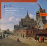 BACH - Orchestra of th - Concerto pour flûte, violon et clavecin en la m