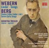 WEBERN - Trexler - Lieder