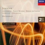 JANACEK - Mackerras - Sinfonietta pour orchestre op.60