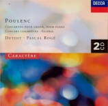POULENC - Lopez-Cobos - Concerto pour piano et orchestre FP.146 'Concert