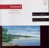 Mélodies françaises Vol.1
