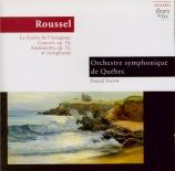 ROUSSEL - Verrot - Festin de l'araignée (Le) op.17