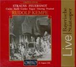 STRAUSS - Kempe - Feuersnot (Les feux de la Saint Jean), poème lyrique o