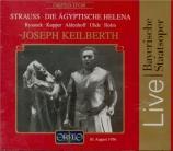 STRAUSS - Keilberth - Die ägyptische Helena (Hélène d'Egypte), opéra op Live München, 10 - 8 - 1956