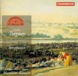 BAGUER - Bamert - Symphonie n°12 en mi bémol majeur