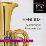 BERLIOZ - Davis - Symphonie fantastique op.14
