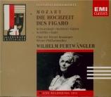 MOZART - Furtwängler - Le nozze di Figaro (Les noces de Figaro), opéra b Live salzburg, 7 - 8 - 1953