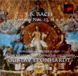 BACH - Leonhardt - Wer weiss, wie nahe mir mein Ende?, cantate pour soli