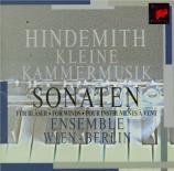 HINDEMITH - Ensemble Wien-B - Kleine Kammermusik, pour quintette à vents