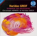 GREIF - Henkel - Sonate de requiem