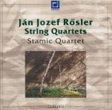 RÖSLER - Stamitz Quartet - Quatuors (3) op.6