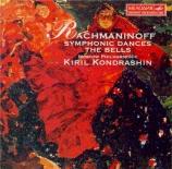 RACHMANINOV - Kondrashin - Danses symphoniques pour orchestre op.45