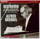 BEETHOVEN - Brendel - Sonate pour piano n°30 op.109