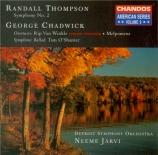 THOMPSON - Järvi - Symphonie n°2